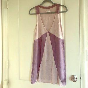 RARE zadig & Voltaire happiness linen dress